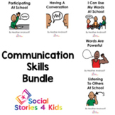 Communication Skills Bundle (French Black and White Versions)