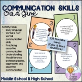 Communication Skills - Counseling Card Game