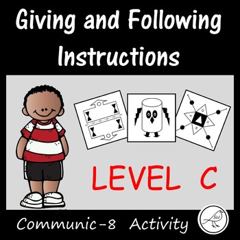 Oral Language Game -  Giving and following instructions (Level C)
