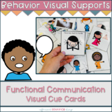 Communication Skills Cue Cards | Functional Communication