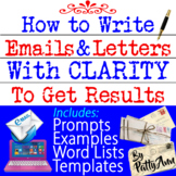 Creative Writing -How to Write Grievance Letters that Work -Word Lists&Templates