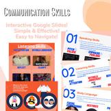 Communication Skills Interactive Google Slides Lesson & Activity