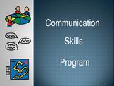 Communication Skills Program - Editable - 38 Pages