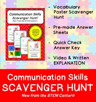 Communication Skills Scavenger Hunt