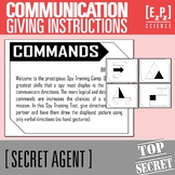 Communication Skills- Secret Agent Activity