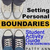 Oral Communication Language Activities: Setting Personal Boundaries *Printables*
