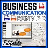 Business Communication Skills Workplace Bundle 2