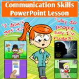 Communication Skills and Self-Awareness PowerPoint