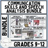 Communication Skills and Speech Analysis Bundle for Grades