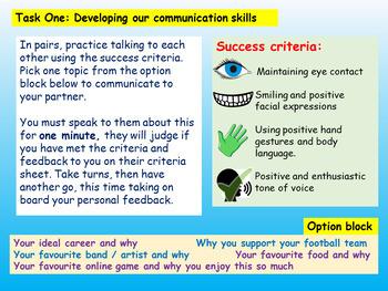 Communication Skills for Careers