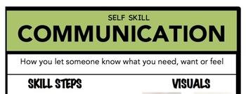 Communication Social Skill Steps Poster - The Empower Program K-2