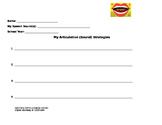 Communication Strategies Worksheets