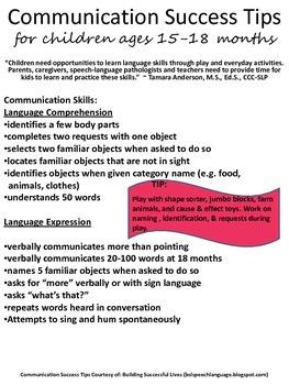 #BHSM Communication Success Tips {for Children ages 12-36 months}