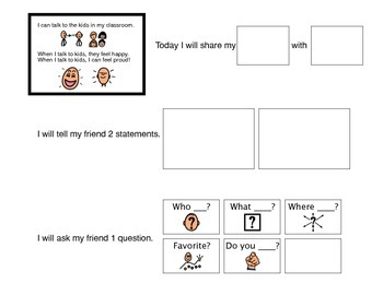Communication Support, Share an Item - Autism VISUAL
