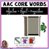 AAC Core Word Adjective Object Preposition Phrases