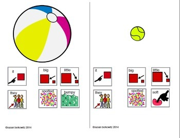 Communication Symbol Phrases Bundle for AAC Autism Special Education