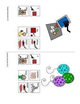 Communication Symbol Phrases Pronoun + Descriptor AAC Autism