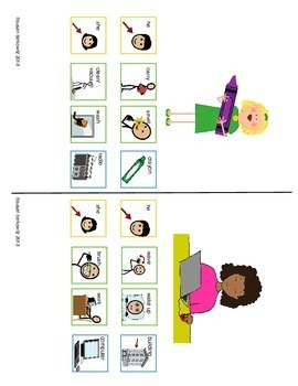 AAC Core Word Communication Symbol Phrases Pronoun Verb plus Object