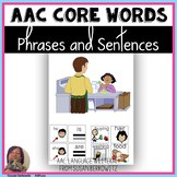 AAC Core Word Activity for Making Phrases and Sentences