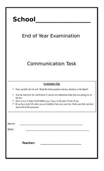 Communication Task