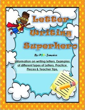 Communication Task - Letter Writing PACK(Grades 2 to 6). Literacy, Language Arts