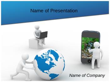 Communication Technology PPT Template