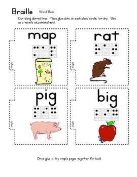 Communication Theme - Braille - Preschool to Kindergarten Activity Unit