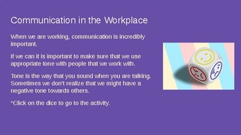 Communication on the Job!