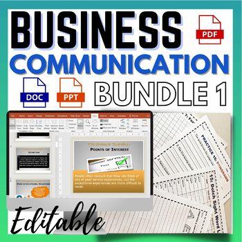 Communications Skills Workplace Bundle