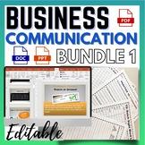 Business Communication Skills Workplace Bundle 1