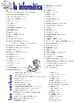 Communications & Technology Spanish Vocabulary Pages