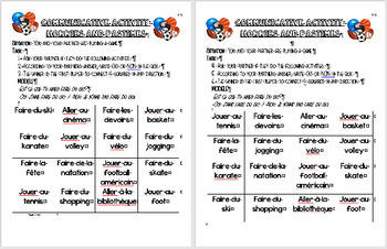 Communicative Activity: Hobbies & Pastimes