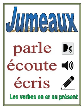 Communicative French Activity (Speak, Listen, Write): ER Verbs