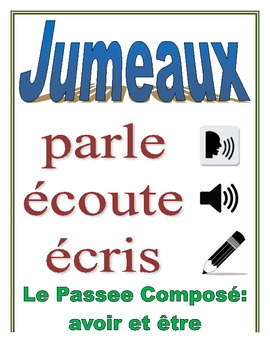 Communicative French Activity (Speak, Listen, Write): PC w/ avoir + être