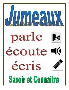 Communicative French Activity (Speak, Listen, Write): Savoir + Connaître