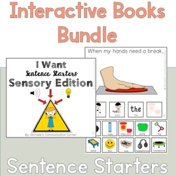 Communicative Functions Sentence Starter Interactive Books