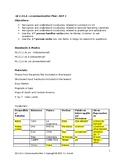 Communicative Plan & Materials for ¡Qué Chévere! 1 Unit 1