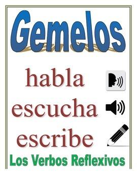 Communicative Spanish Activity (Speak, Listen, Write): Reflexive Verbs