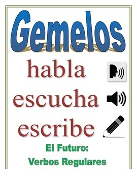 Communicative Spanish Activity (Speak, Listen, Write): Regular Future