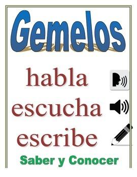 Communicative Spanish Activity (Speak, Listen, Write): Saber + Conocer