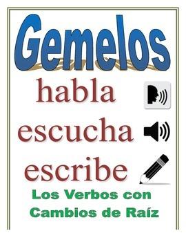 Communicative Spanish Activity (Speak, Listen, Write): Stem-Change Verbs