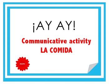 Communicative game - Food