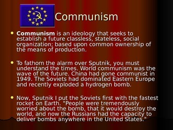 Communism PowerPoint (used to introduce The Crucible by Arthur Miller)