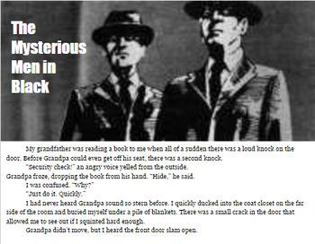 "Communism Short Story- ""The Mysterious Men In Black"""