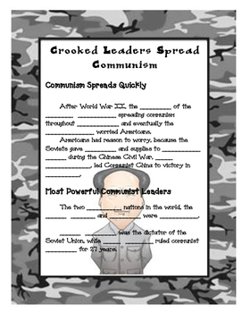 Communism Spreads Notes Pages