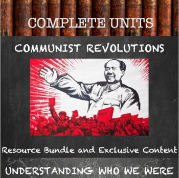 Communism and Communist Revolutions Unit Bundle--Resource Pack