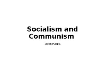"""Communism and Socialism in """"1984"""""""