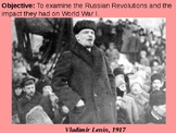 Communism and the Russian Revolutions of 1917 PPT