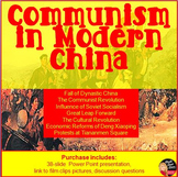 Communism in China | Lecture Power Point Presentation | World History| 8-12