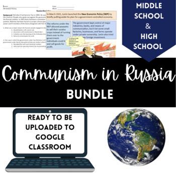 Communism in Russia Bundle